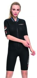Cressi Endurance 3mm Womens Shorty Wetsuit 2021 - Black