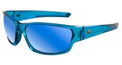 Dirty Dog Sport Chain Sunglasses - Crystal Blue/Blue Fusion Polarised