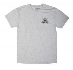 Radar Slash Mens T-Shirt - White - Front