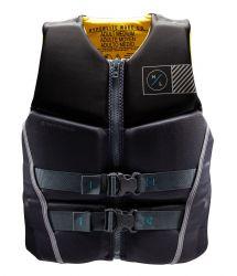 Hyperlite Prime NEO CGA Impact Vest 2021- Black/Yellow - Front