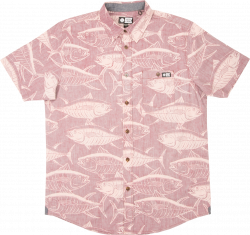 Salty Crew Longline Mens Shirt - Clay