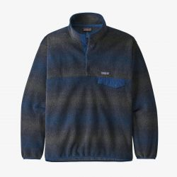 Patagonia Synchilla Snap-T Mens Fleece Pullover - Navy  - Full View
