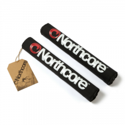 Northcore Roof Bar Pads 2021 - Black - Full View