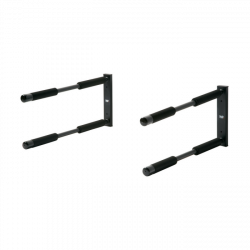 Northcore Double Surfboard Rack 2021 - Black - Full View
