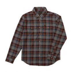 Dark Seas Awol Shirt - Grey/Brown
