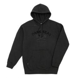 Dark Seas Scipps Hooded Sweatshirt -  Black