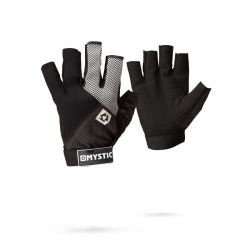 Mystic Short Finger Neoprene Junior Rash Gloves - Black