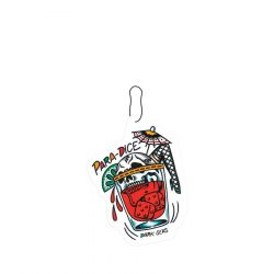 Dark Seas Para Dice Car Air Freshener - Wild Cherry