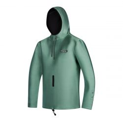 Mystic Star Sweat 2mm Neoprene Jacket 2021 - Sea Salt Green