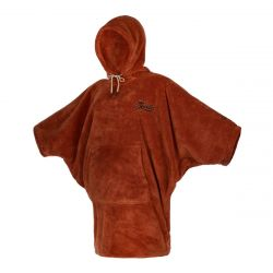 Mystic Teddy Womens Poncho 2021 - Rusty Red