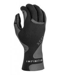 Xcel Infinite 3mm 5-Finger Wetsuit Gloves - Black