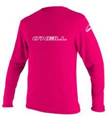 O'Neill Kids Watermelon Pink Rash Vest - Slim fit - 2016 - Long Sleeve f