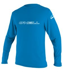 O'Neill Kids Blue Rash Vest - Relaxed fit - 2016 - Long Sleeve f