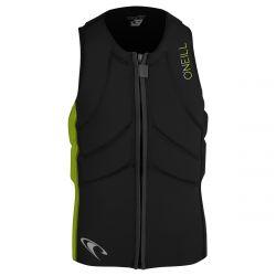 O'Neill Slasher Kite Vest 2021 - Black/Dayglo - Front