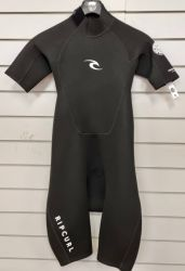 Rip Curl Freelite 2mm Mens Spring Shorty Wetsuit 2021 - Black