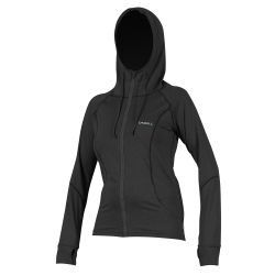 O'Neill Hybrid Long Sleeve Zip Sun Hoodie 2019 - Black
