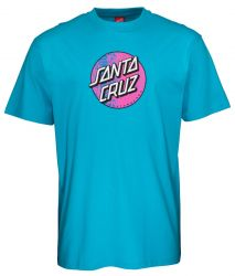 Santa Cruz 'Scales Dot' Tee - 'Aqua'