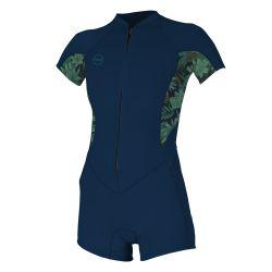 Women's O'Neill Bahia 2/1mm front zip wetsuit 2019