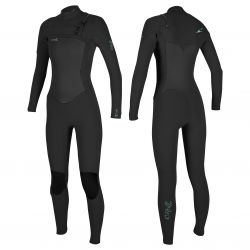O'Neill Epic 3/2 chest zip women's wetsuit