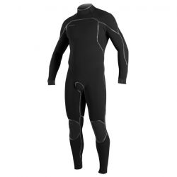 O'Neill Psycho One 3/2mm Back Zip Wetsuit 2021 - Black