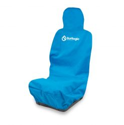 Surf Logic Single Waterproof Car Seat Cover - Cyan - Front