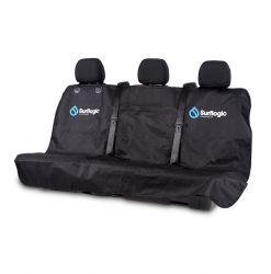 Surflogic Waterproof Triple Car Seat Cover -  Universal Black - Front