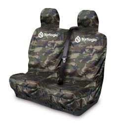 Surflogic Double Waterproof Car Seat Cover -  Camo - Front