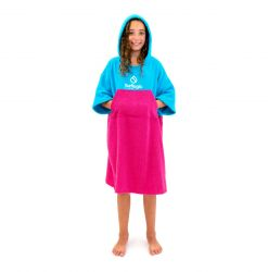 Surflogic Junior Girls Poncho Changing Towel - Pink