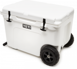 Yeti Haul Wheeled Cool Box - White