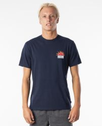 Rip Curl 'Grateful Tee' - 'Navy'