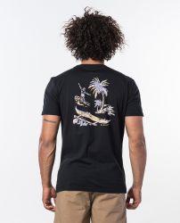 Rip Curl 'Hawaiian Trip' T-Shirt - 'Black'