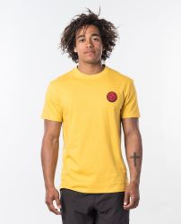 Rip Curl 'Passage' T-Shirt - 'Washed Yellow'