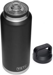 Yeti Rambler 64oz Bottle With Chug Cap - Black - Full View