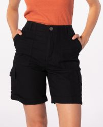 Rip Curl Women's 'Oasis Muse' Cargo Shorts - 'Black'