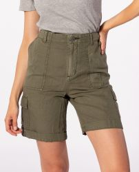 Rip Curl Women's 'Oasis Muse' Cargo Shorts - 'Ivy Green'