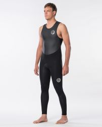 Rip Curl Dawn Patrol 1.5mm Long John Wetsuit 2020 - Black