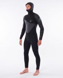 Rip Curl Heatsseker 5/4mm hooded wetsuit