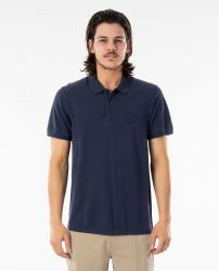 Rip Curl 'Faded' Polo Shirt - 'Navy'