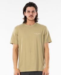 Rip Curl Saltwater Culture 'Nomadic' Tee - 'Olive'