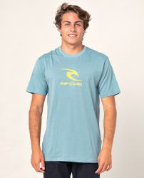 Rip Curl 'Icon Used' Tee - 'Mid Blue'