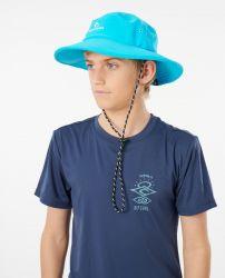 Rip Curl Boys Beach Sun Hat - Blue