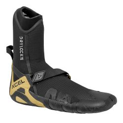 Xcel Drylock 7mm Round Toe Wetsuit Boots 2021 Black