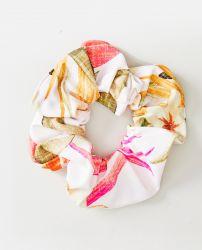 Rip Curl Northshore Scrunchie Hair Tie - Light Pink