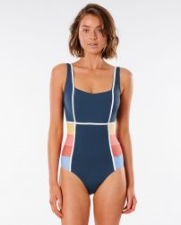 Rip Curl Golden State One Piece Womens Swimsuit - Navy