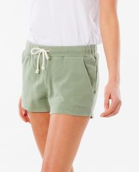 Rip Curl Women's 'Organic Fleece' Short - 'Green'
