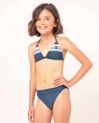 Rip Curl Girls Golden State Triangle Bikini Set - Navy