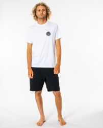 Rip Curl 'Wettie Essential' Tee in 'White'
