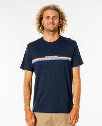 Rip Curl Surf Revival Mens T-Shirt - Navy - Front