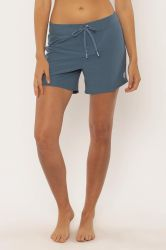 "SisstrEvolution 'Baja Bliss' 5"" Boardshort - 4-Way Stretch - Coastal Blue"