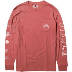 Vissla More Mate Less Hate LS T-Shirt - Plumeria